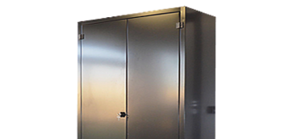 RUGGED METAL CABINET SERIES: Lockable metal cabinets, manufactured in steel plate with sp. 10/10 at bent.