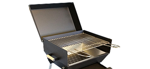 PIC NIC MODEL: Barbecue practical and simple to use for those who want to make a barbecue outdoors