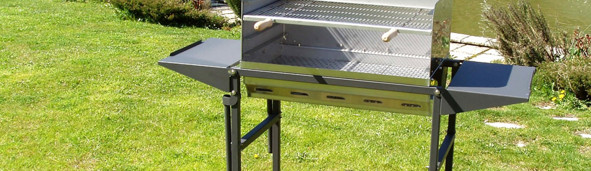 Un barbecue professionale...